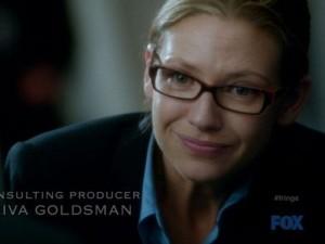 Olivia in glasses