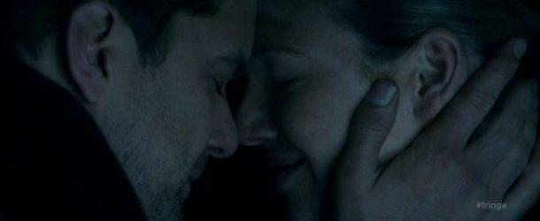 The Peter/Olivia SUV kiss