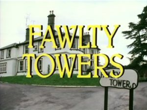 Fawlty Towers - title card