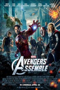 Avengers UK Poster