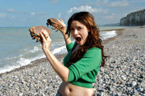 baya with crabs