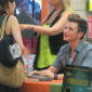 Chris Colfer makes a stop in La Verne, CA to promote his new book, The Land of Stories: The Wishing Spell