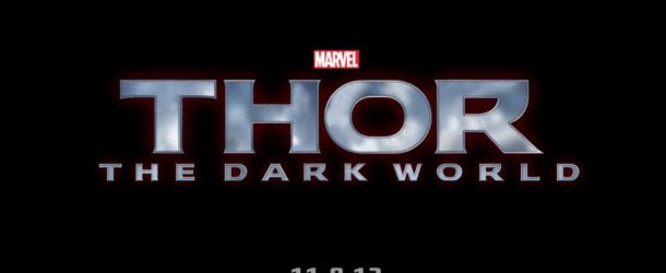 Thor The Dark World promo poster