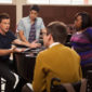 """Annnnd we're back! Glee's fifth episode of the new season, which serves to introduce another new character and set us up for next week's big """"Grease"""" performances."""