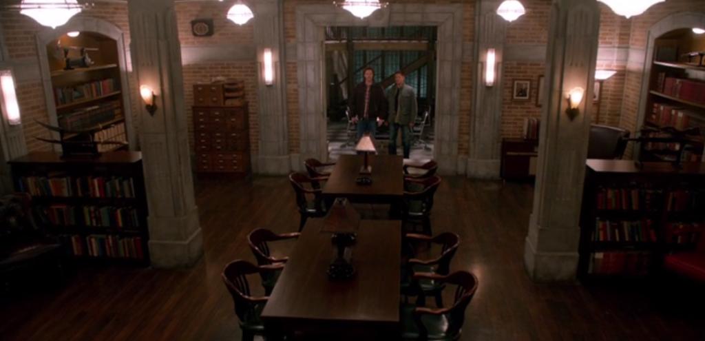 Supernatural, s8 ep13–Men of Letters hideout [ Supernatural, S8 Ep13 ...