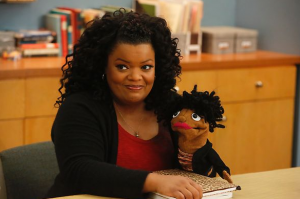 Community Shirley Puppet
