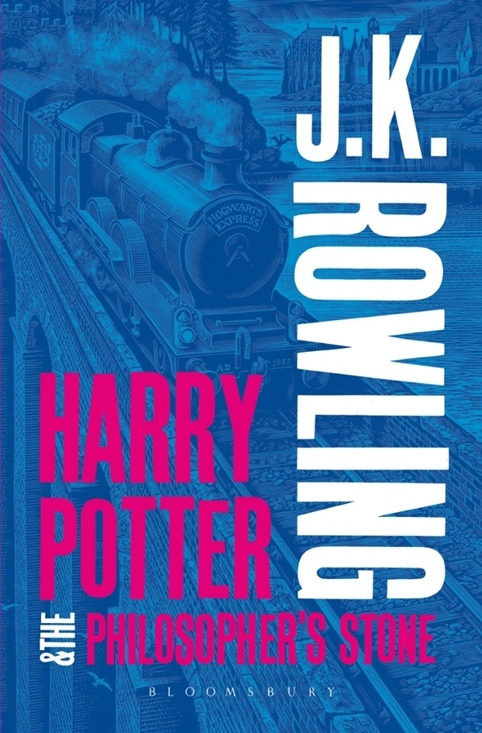 Harry Potter Philosopher S Stone Book Cover ~ Harry potter books get new cover art