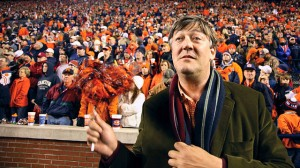 stephen fry in america college football