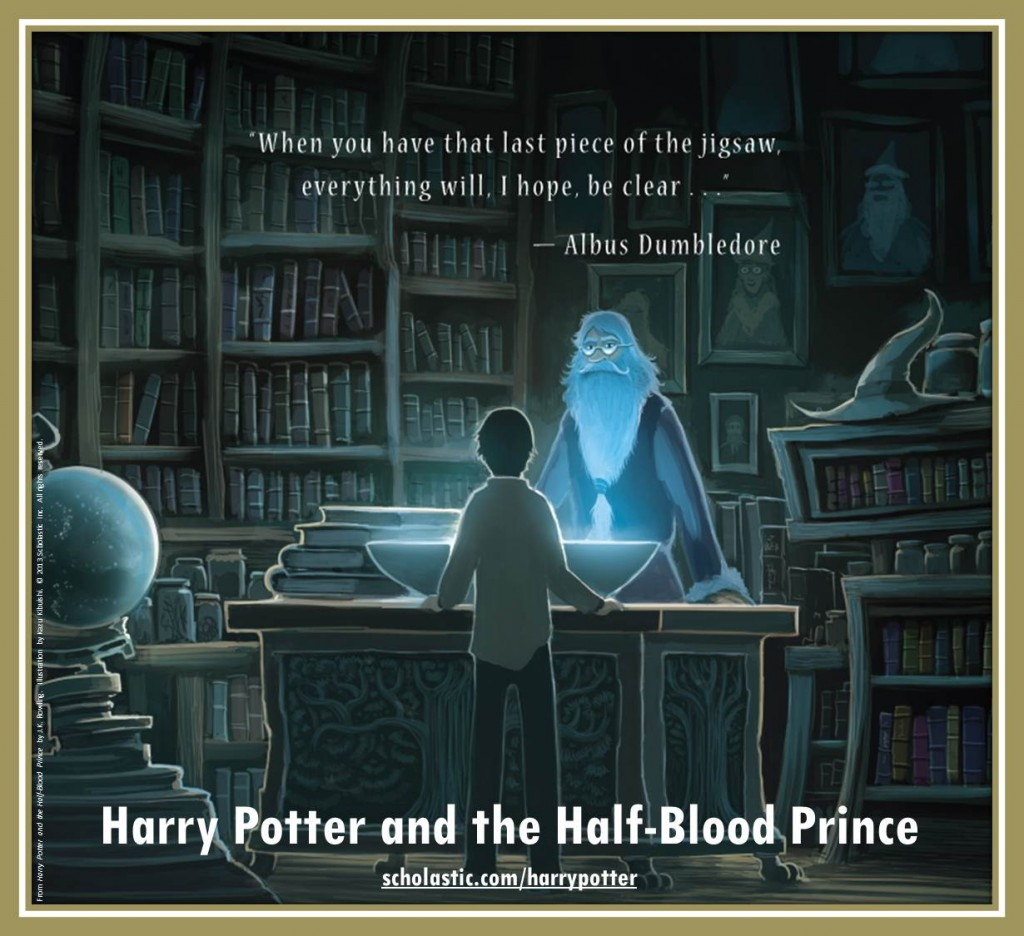 Harry Potter and the Half-Blood Prince back cover