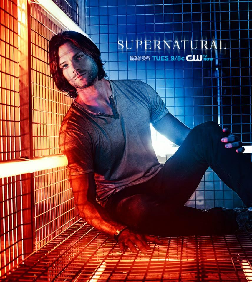 Supernatural promo poster–Sam in a cage