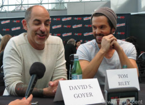 NYCC 2013 - Da Vinci's Demons - Goyer & Riley