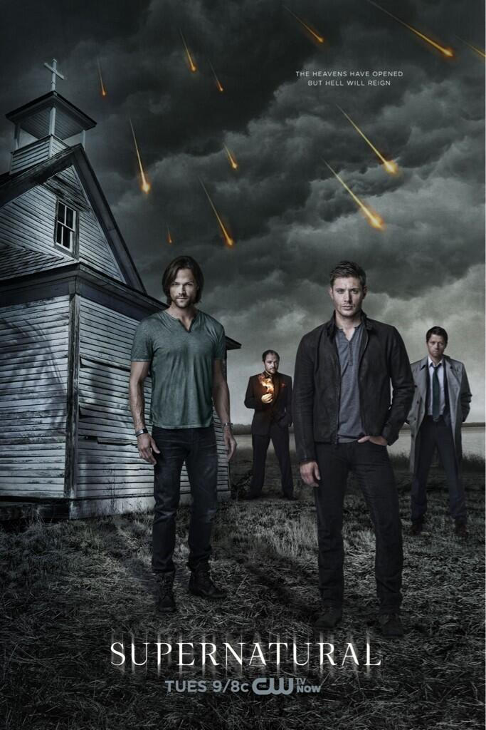 New(ish) Promo Poster for Supernatural