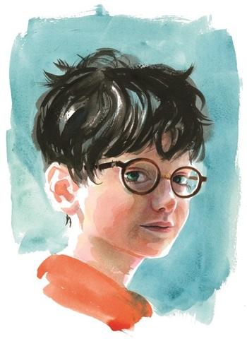 Portait of Harry Potter by Jim Kay