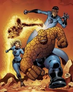 Fantastic Four comic page