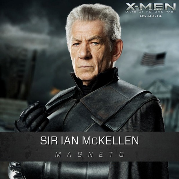 xmen days of future past character posters