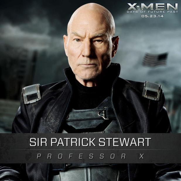 X-Men Days of Future Past Professor X played by Patrick ... X Men Days Of Future Past Professor X