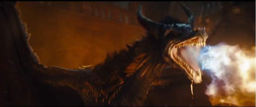 Maleficent 2014 - Maleficent as a Dragon