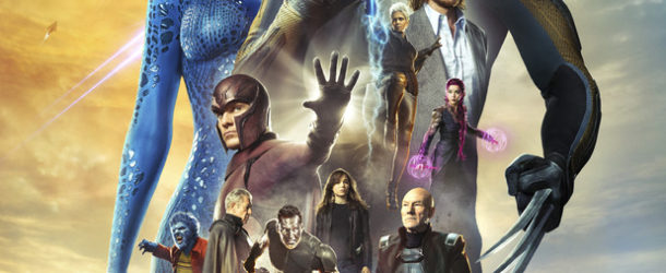 x-men-days-of-future-past-poster with ensemble cast