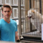"""Glee's penultimate episode is a bit of a surprise, with momentum halting momentarily as Chris Colfer (Kurt) pens """"Old Dog, New Tricks."""" Author and screenwriter Colfer lends his talents to Glee, writing an episode that gives us a struggling Kurt, lots of cute old people, and dogs. Many, many dogs."""