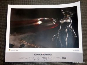 Captain America: The Winter Soldier Giveaway Lithograph