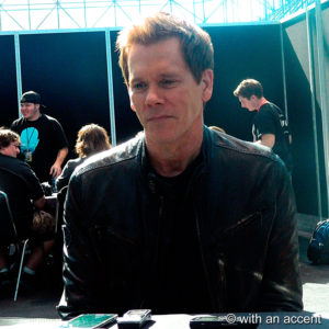 """The Following"" star Kevin Bacon talks about season three of his hit show."