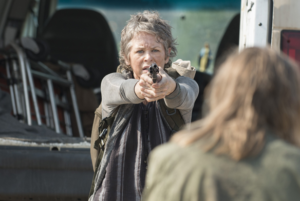 Apologies to Carol, whose episode was derailed. Conveniently.