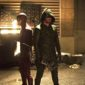 The Flash teams up with the Starling City vigilante known as The Arrow as a new meta-human arrives in Central City.