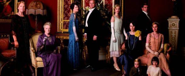 Downton Abbey S05E09 Formal Cast