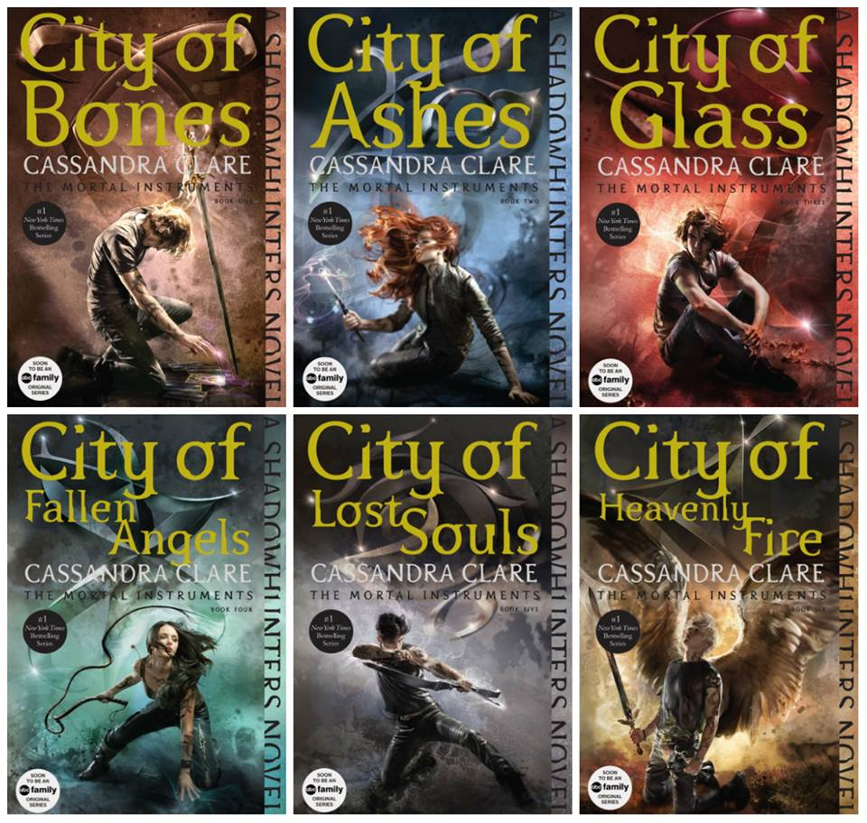 Book Cover Series S : 'the mortal instruments book series gets repackaged
