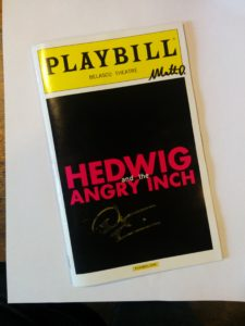 Enter to win this Playbill signed by Darren Criss!