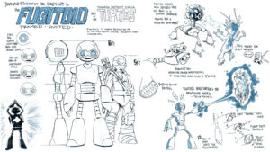 The Fugitoid voiced by David Tennant
