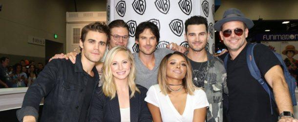 'The Vampire Diaries' SDCC 2016 credit: warner bros