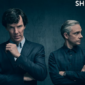 The first image for the upcoming fourth season of BBC's Sherlock has just been tweeted, showing the two main characters poised for adventure.