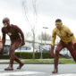 It's up to Kid Flash to save Iris when a new meta-human named Clive Yorkin emerges in Central City.