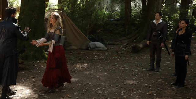 In the second episode of Once Upon a Time this week, Cinderella and Henry finally kiss and a new, dangerous curse is revealed.