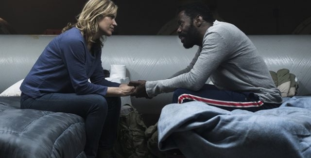 This week's episode of Fear the Walking Dead brought about another significant reunion, as Madison and Strand caught up with Daniel at the dam.