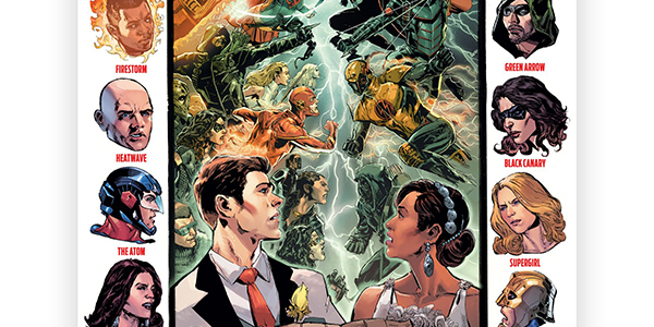 "The annual DCTV crossover will be titled ""Crisis on Earth X"" this year, and features nothing less than Nazi doppelgangers and a Westallen wedding!"