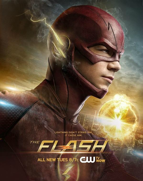Top the flash poster #ZE32