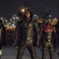 Diggle embraces his role as the Green Arrow, but struggles as the team's new leader.