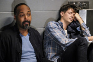 Joe West and Barry Allen on 'The Flash'