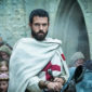 Tom Cullen, star of History Channel's Knightfall, shared his experiences with sword fighting, romance, and religion in the world of the Knights Templar.