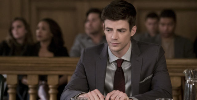 Barry Allen/The Flash is on trial for the murder of Clifford Devoe. Meanwhile, the rest of the team do everything they can to prove Barry's innocence.