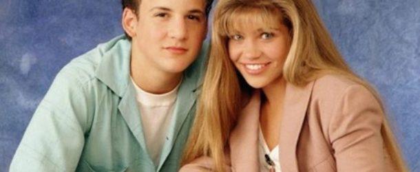 Boy Meets World - Cory and Topanga Publicity Still