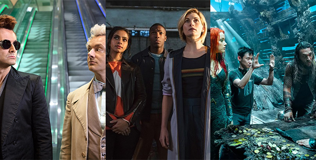 This podcast we talk all things New York Comic Con, including Good Omens, The Boys and Runaways. Plus: Doctor Who and Aquaman feelings!