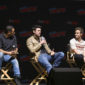 """""""The Boys"""" (and one girl!) discuss the graphic nature of Amazon Prime's new twist on the superhero genre at New York Comic Con."""