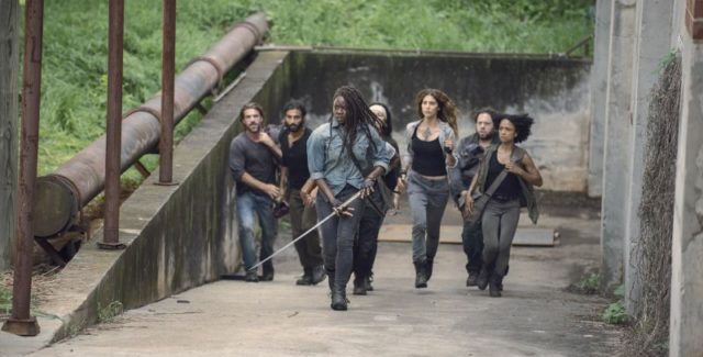 This week's chapter of The Walking Dead set things up for a major confrontation in the mid-season finale and answered a few more questions about the new world, particularly about […]