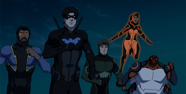 """Young Justice: Outsiders is harder to track this week, with the sheer number of characters and ongoing storylines, but """"Home Fires"""" ends on a splendid note."""