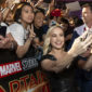 The 'Captain Marvel' promotional tour begins with a stop at a fan event in Singapore.