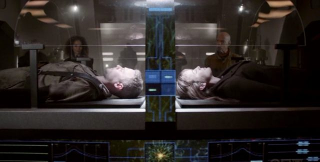 In an episode that showcases the talents of Elizabeth Henstridge and Iain De Caestecker, FitzSimmons struggle to say alive inside a special Chronicom mind prison.