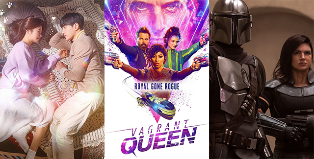 This week's podcast consists of everything we can't watch in theaters but can watch in quarantine. From Syfy's new series Vagrant Queen to Netflix's fantasy Letter To The King to every Asian drama under the (lack of) sun.